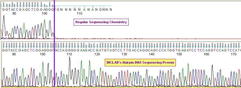 富含gc和发夹结构的dna测序预混液